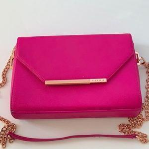 Ted Baker Denni Crossbody Clutch Bag w/ Rose Gold